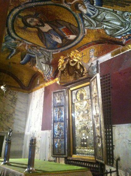 Die Papstkapelle Sancta Sanctorum.
