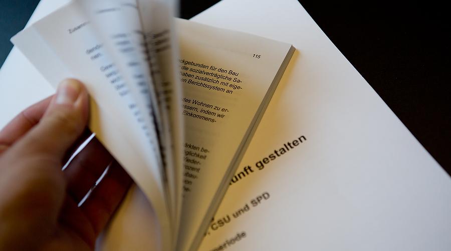Nun entscheiden die SPD-Mitglieder über das Schicksal der Großen Koalition. Foto: Tobias Koch/tobiaskoch.net