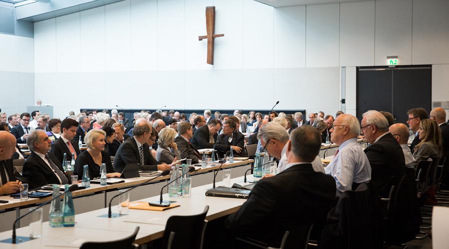 Fraktionssitzung der CDU/CSU-Bundestagsfraktion. (Foto: Tobias Koch)