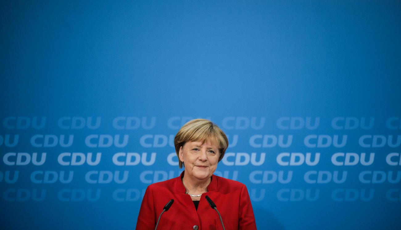 Angeka Merkel gibt am 20.11.16 in Berlin im Konrad-Adenauer-Haus eine Pressekonferenz. / Fotograf: Tobias Koch (www.tobiaskoch.net)